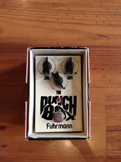 Pedal Fuhrmann Punch Box Level e Drive - Usado na internet