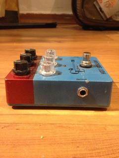 Pedal Handmade Gl Guitars Hot Scream (drive E Delay) na internet