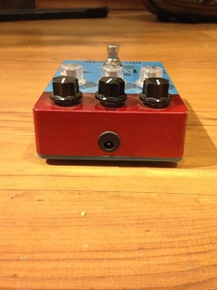 Imagem do Pedal Handmade Gl Guitars Hot Scream (drive E Delay)