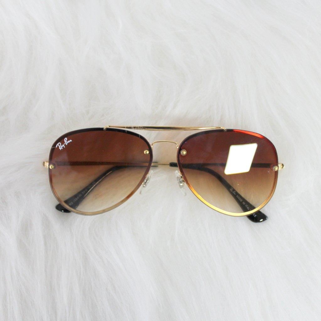 902e7c189 Óculos de Sol Aviador (Marrom) - DM Acessórios