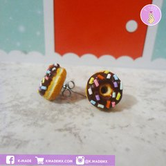 Mini Donuts | 3 Pares | Aretes | Earrings - buy online