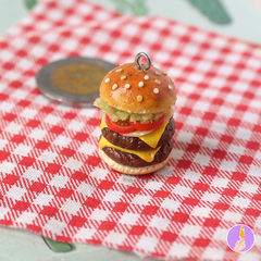 Hamburguesa doble | Coleccion | Llavero - buy online