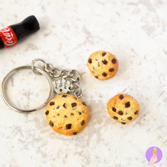 Llavero | Galletita con chispas de chocolate