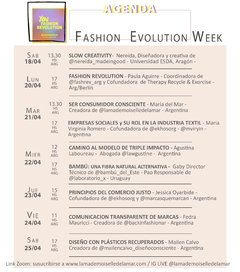 FASHION EVOLUTION WEEK - comprar online