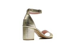 SANDALIA GRECIA PLATINO - Felmini Shoes