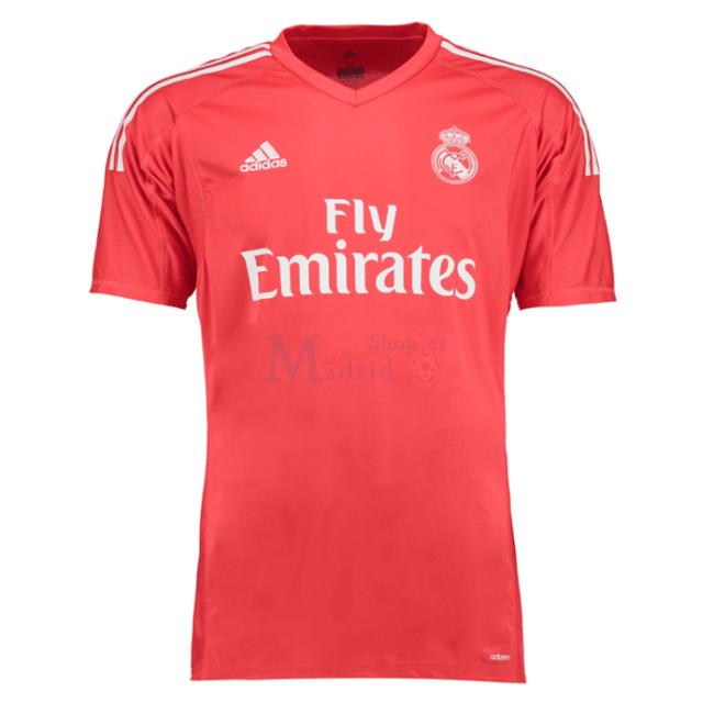 Camisa Real Madrid Goleiro 2017 18 - Versão torcedor d1ccd722981d6
