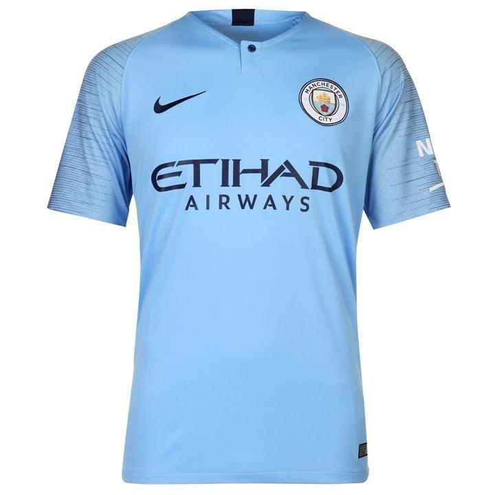 1653ff7bb3 Camisa Manchester City I 18 19 - Versão torcedor