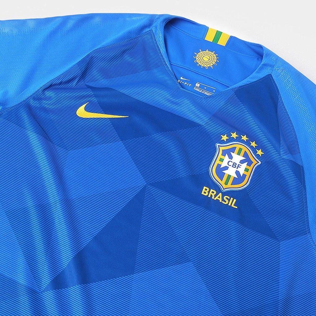 Camisa Brasil II - 2018 19 versão torcedor - Sport Online 8f7cbd6fc7f93e ... 67ff6d29a8c8a