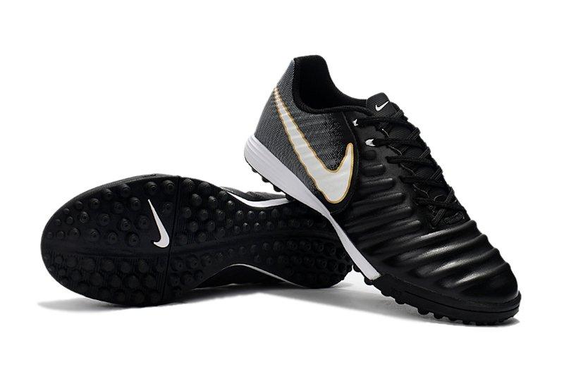 fce3cef1b04fe Nike Tiempo Ligera IV TF preto e cinza - Society
