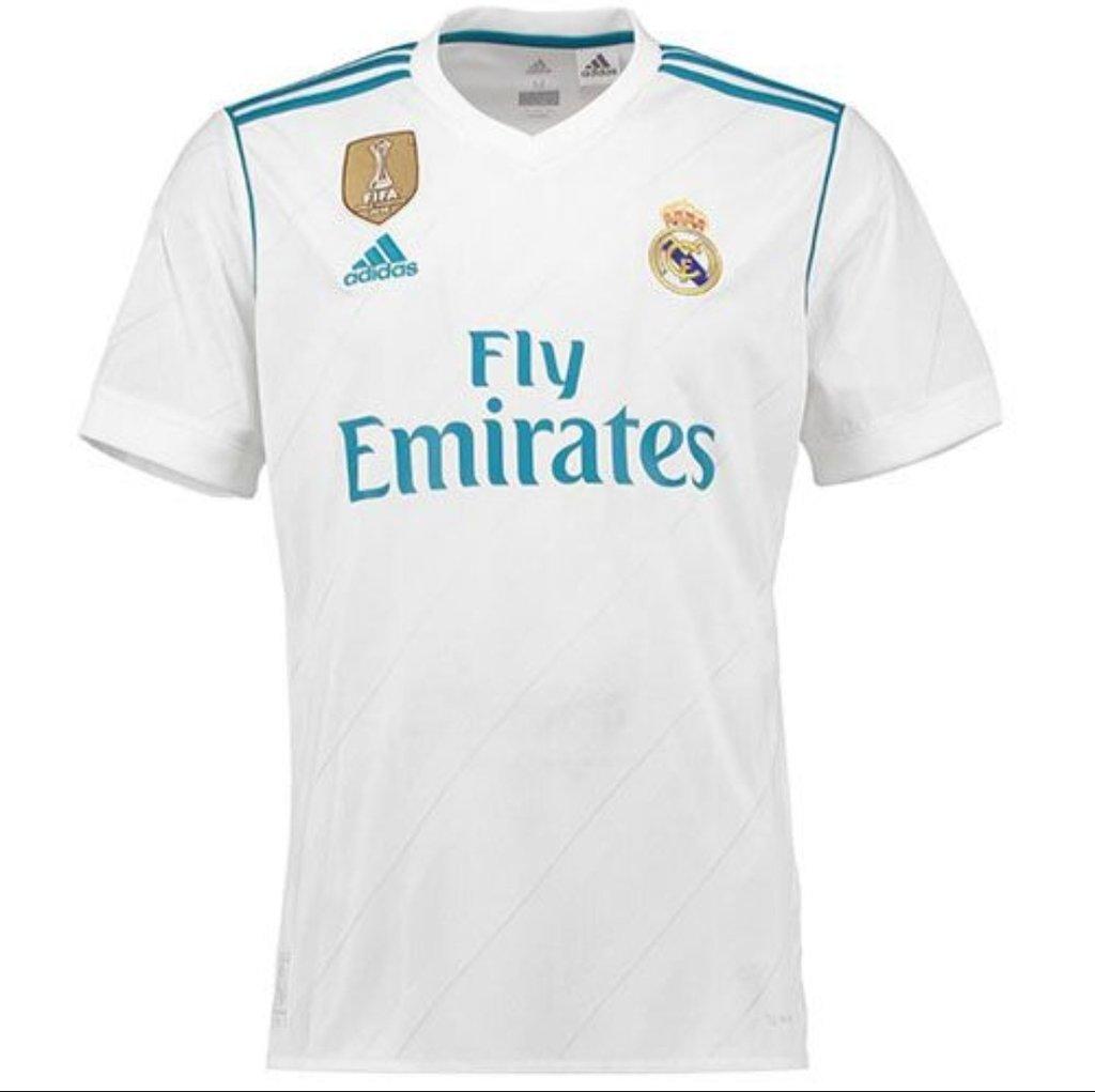c95e3838552d6 Camisa Real Madrid II 2017 18 versão jogador