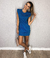 Le Muscle Dress - Azul