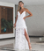 Vestido longo Dominique - off white