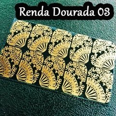Kit Rendas Douradas