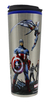 Copo Marvel Metal Vingadores Avengers City 450ml