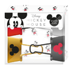 MICKEY MOUSE BINDER CLIPS X4 UNDADES