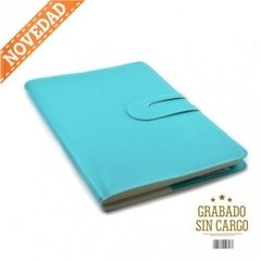 Agenda Howard Semanal Flexible Turquesa