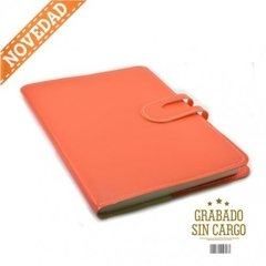 Agenda Howard Semanal Flexible Naranja
