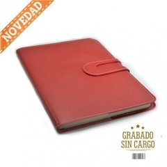 Agenda Howard Semanal Flexible Rojo