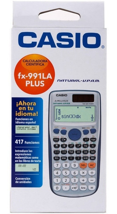CALCULADORA CASIO FX-991LA PLUS