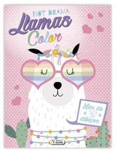 LIBRO PARA COLOREAR SUPER LLAMAS COLOR