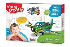 Set Creativ Avión Build & Play Didáctico Maped