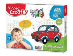 Set Creativ Auto Build & Play Didáctico Maped