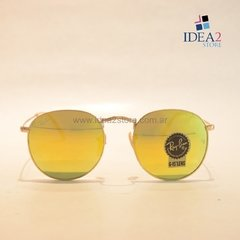 RAY BAN ROUND METAL RB3447 G15 001