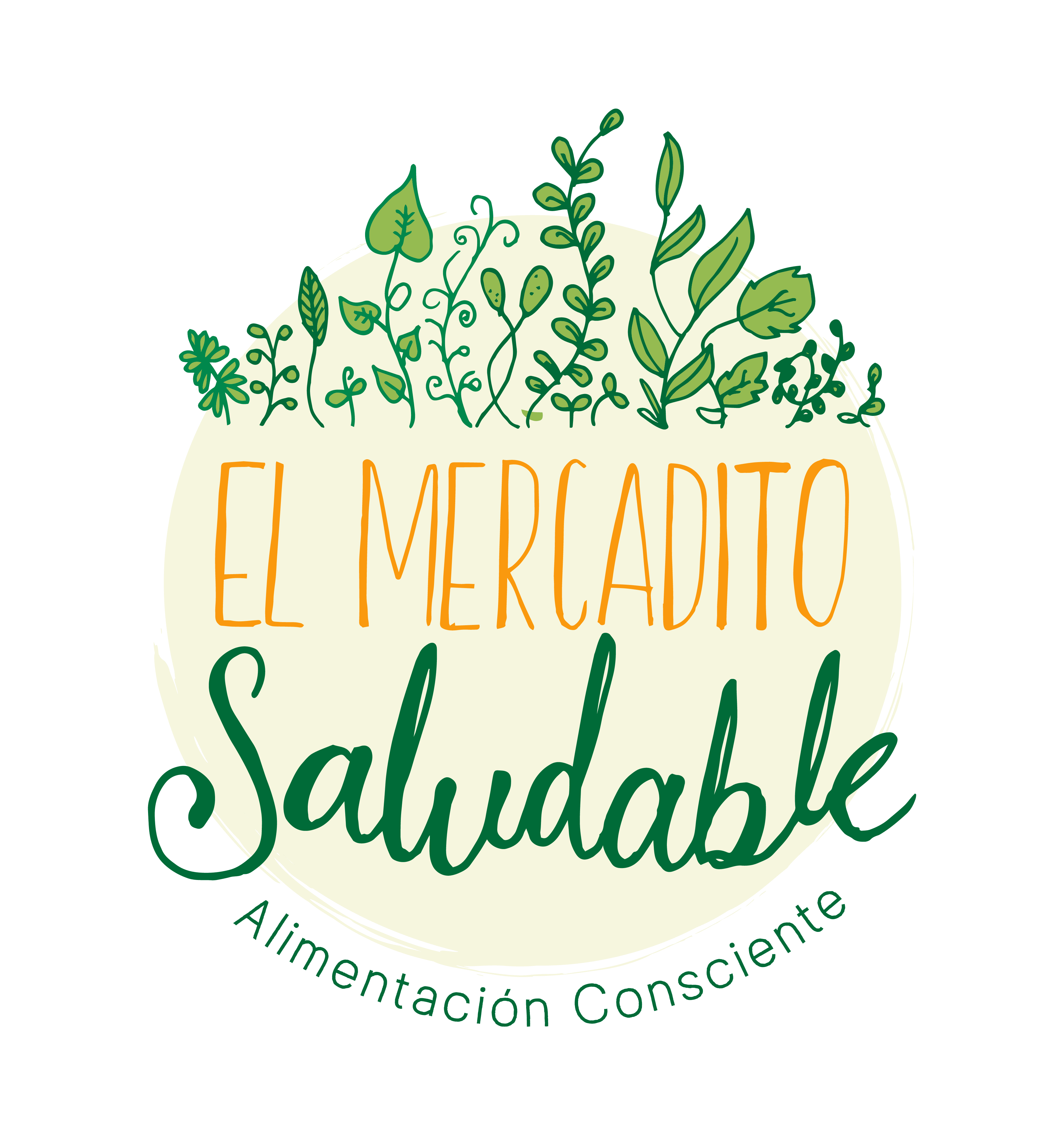 Sello de El Mercadito Saludable