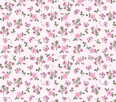BELLE FLORAL FUNDO ROSA