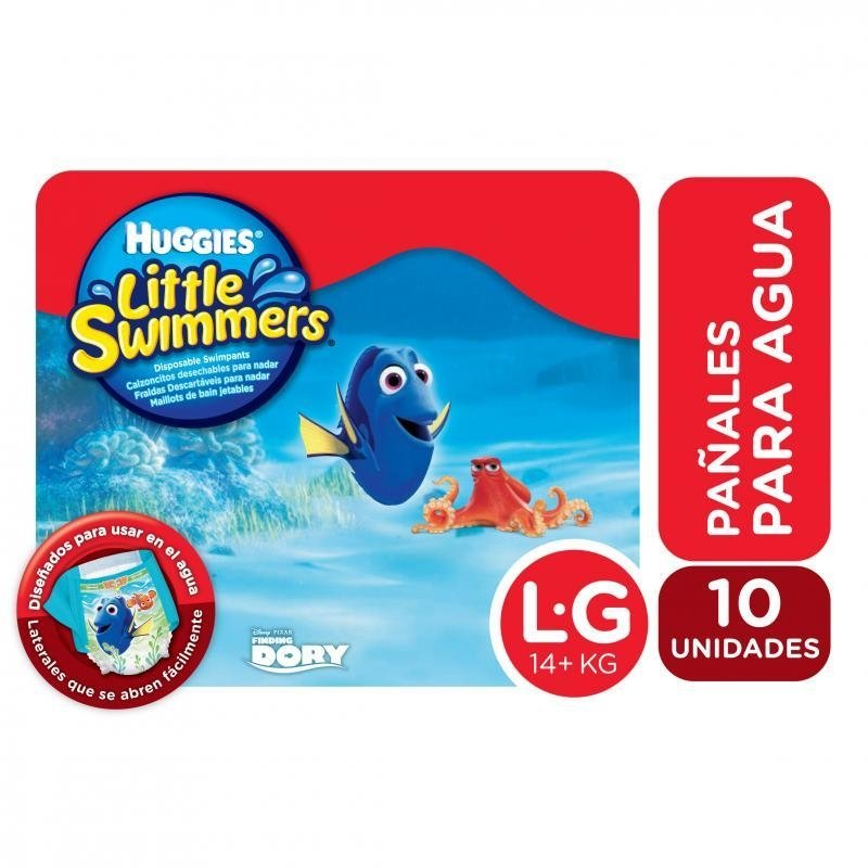 be474763f HUGGIES - Little Swimmers - Para Nadar - Talle  G - Cantidad  10 pañales