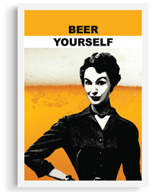 Quadro - Beer Yourself - comprar online