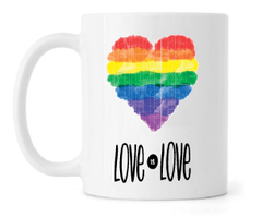 Caneca - Love is Love