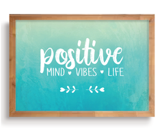 Quadro - Positive Mind, Vibes and Life na internet
