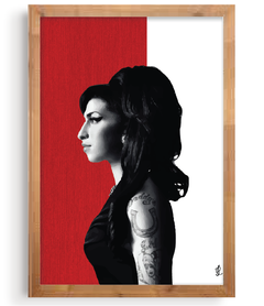 Quadro - Amy Winehouse na internet