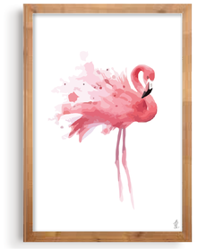 Quadro - Flamingo 1 na internet