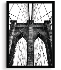 Quadro - Nova York Bridge