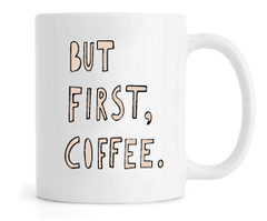 Caneca - But first, Coffee na internet