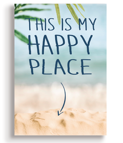 Quadro - This is my happy place - Casa da Gina
