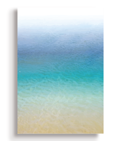 Quadro - Illustrated Beach - Casa da Gina