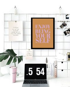 Quadro - Be yourself - comprar online