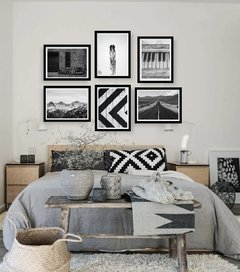 Kit de quadros - Black and White