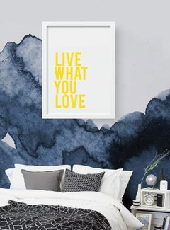 Quadro - Live what you love - comprar online