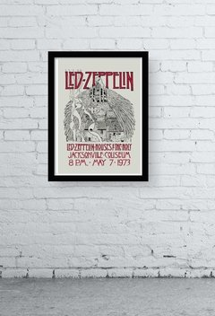 QUADRO DECORATIVO - LED ZEPPELIN OLD POSTER