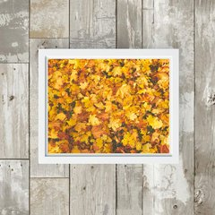 Quadro - Autumn in shades of yellow na internet