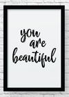 Quadro decorativo - You're beautifull