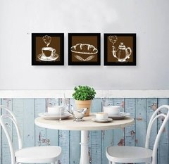 Trio de quadros  - Coffe Cook