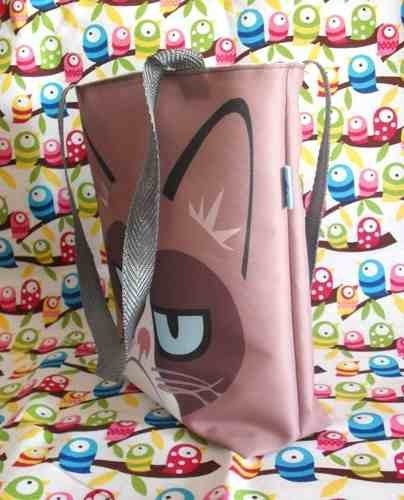 Mini Tote Bag De Grumpy Cat - comprar online