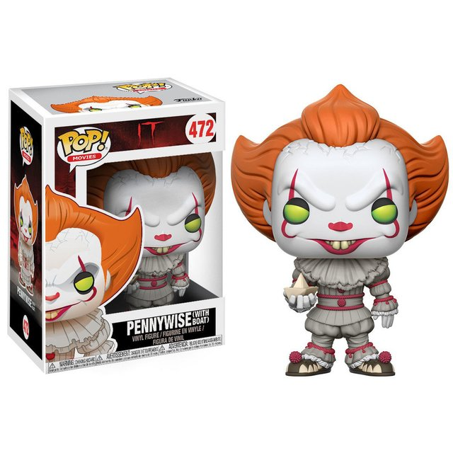 Funko Pop IT - Pennywise with boat - comprar online