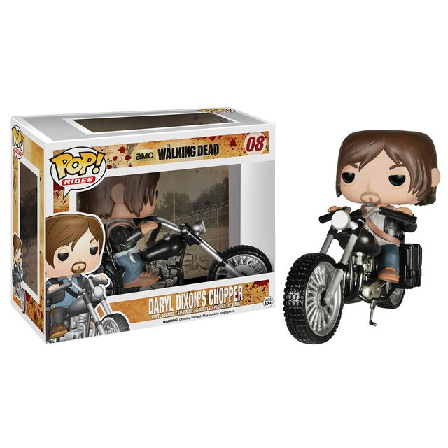 Funko Pop The Walking Dead - Daryl Dixon w/ Chopper - comprar online