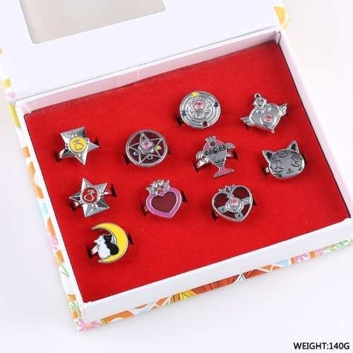 Anillos De Metal de Sailor Moon